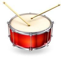 The drums song - обучающая английская песня
