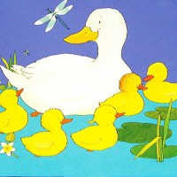 Five Little Ducks - английская песенка