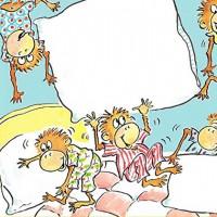Five little monkeys - английская песенка