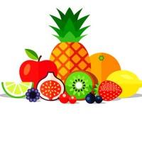 The fruit song - обучающая английская песня