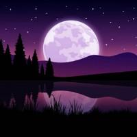 Красивая ночь - колыбельная песня природы