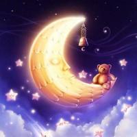 Лунный блеск - колыбельная песня природы