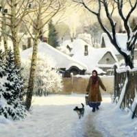 Русская зима - песня про зиму