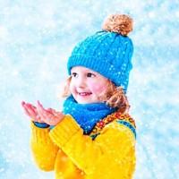 Серебристые снежинки - песня про зиму