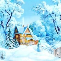 Серебряная песенка - песня про зиму