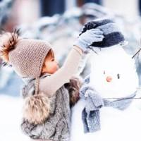 Снеговик - песня про зиму