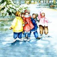 Снежная песенка - песня про зиму