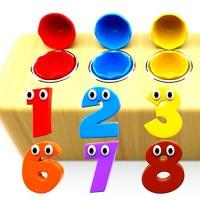 The toys and numbers song - обучающая английская песня