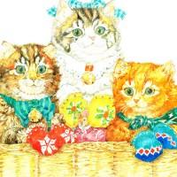Three little kittens - английская песня-шутка