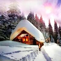 У леса на опушке - песня про зиму