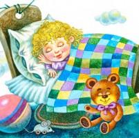 Засыпай, солнышко - колыбельная песня