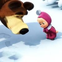 Зимние следы - песня про зиму