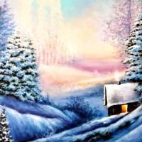 Зимушка хрустальная - песня про зиму