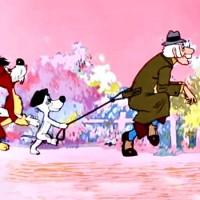 Человек собаке друг - песня из мультфильма