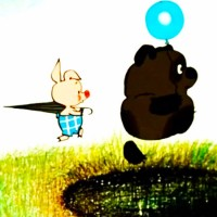 """Куда идем мы с Пятачком - песня из мультфильма """"Винни Пух"""""""