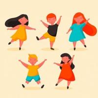 Веселый пляс - песенка с движениями