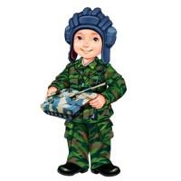 Буду в армии служить - песня на 23 февраля