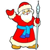Дед Мороз-борода сосулькой - новогодняя песня