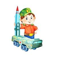 Генерал игрушек - песня на 23 февраля