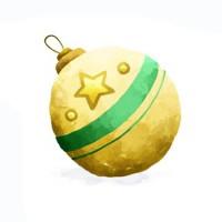 Новогодние игрушки, свечи и хлопушки - новогодняя песня