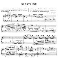 Соната для фортепиано In F, К533 - Вольфганг Амадей Моцарт