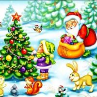 Пляшут белки, пляшут зайцы - новогодняя песня