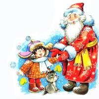 Российский Дед Мороз - новогодняя песня