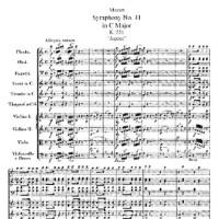 Симфония №41 до мажор - Вольфганг Амадей Моцарт