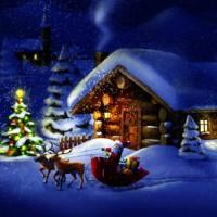 В ночь под новый год - новогодняя песня