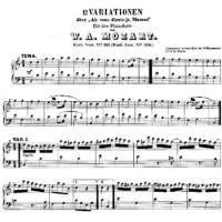 Вариации на тему «Ah Vous Dirai-Je, Maman» - Вольфганг Амадей Моцарт